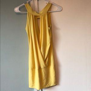 Dresses & Skirts - Yellow Mini Dress or Tunic Top